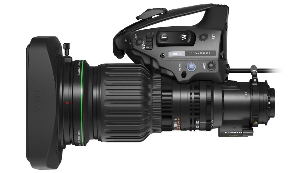 Canon CJ20ex5B – najnowszy obiektyw telewizyjny 4K