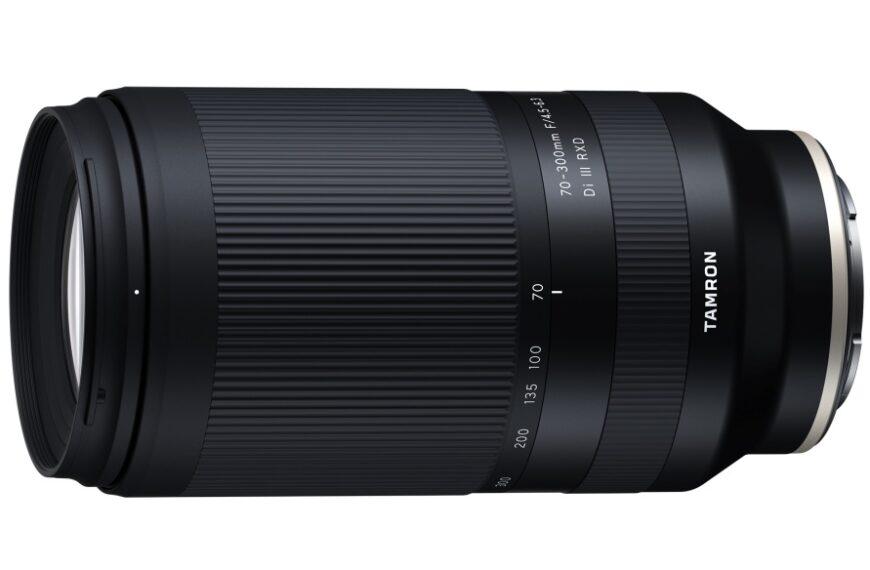 Tamron 70-300 mm F/4,5-6,3 wmocowaniu Sony E