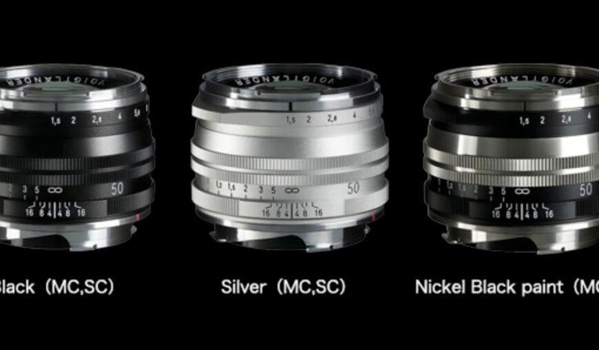 Cosina wprowadzi obiektyw Voigtlander Nokton Vintage Line 50 mm F/1,5 Aspherical II VM