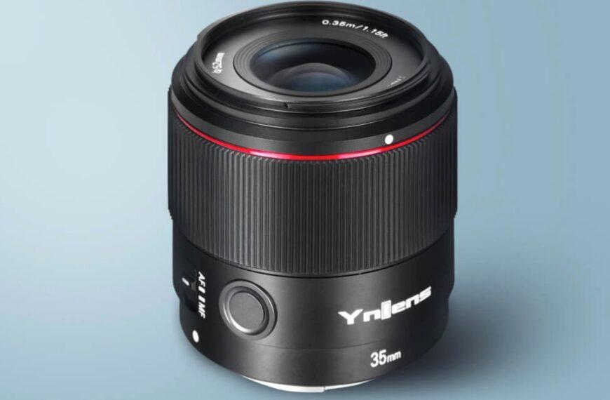 Obiektyw zautofokusem Yongnuo 35 mm F/2 dopełnoklatkowych bezlusterkowców Sony