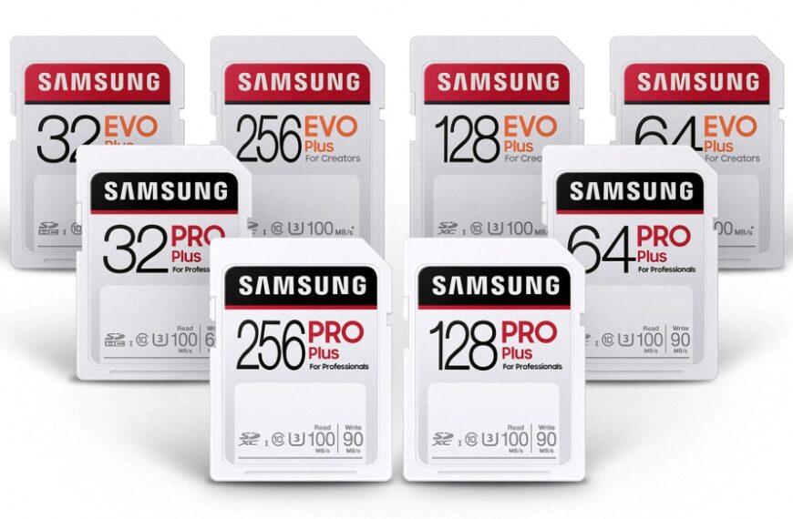 Nowe wytrzymałe karty pamięci SD firmy Samsung