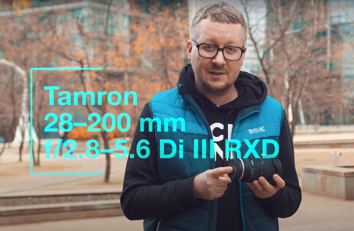 Dawid Markoff oobiektywie Tamron 28-200mm F/2.8-5.6 Di III RXD Sony E – film