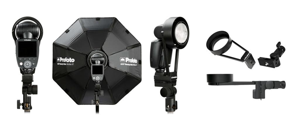 Adapter Profoto OCF pozwala mocować modyfikatory światła OCF nalampach serii A