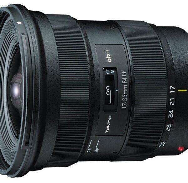Tokina 17–35 mm F/4 dla systemów Canon EF iNikon F