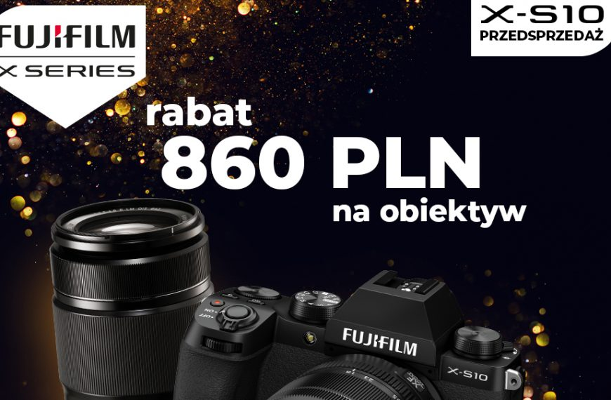 Obiektyw FUJINON XF55-200 taniej o860 zł przy zakupie zFUJIFILM X-S10