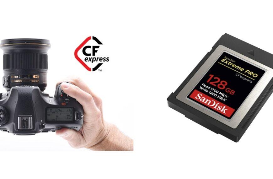 Nikon: aktualizacja oprogramowania dodaje obsługę kart CFexpress Typ B dla lustrzanek D500, D850 iD5