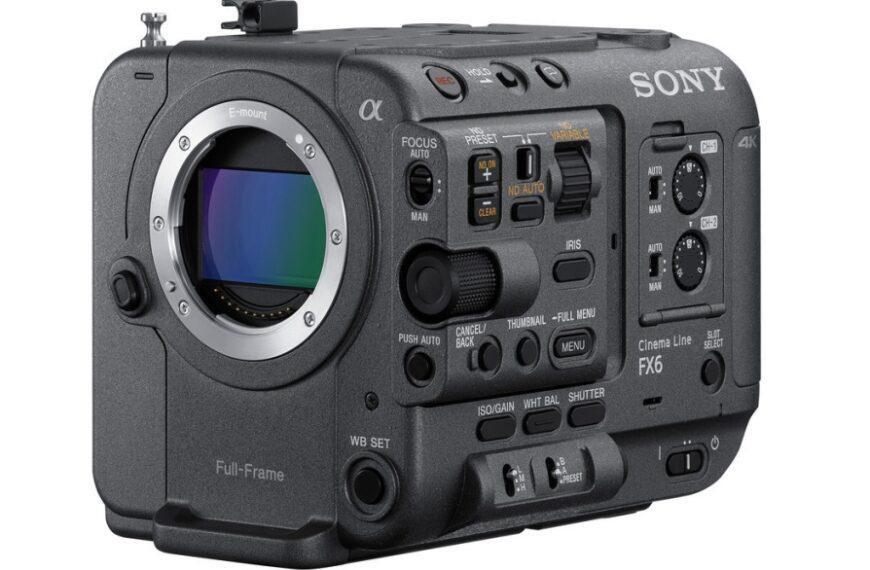 Netflix dodaje Sony FX6 dolisty kamer zatwierdzonych dofilmowania Netflix Originals