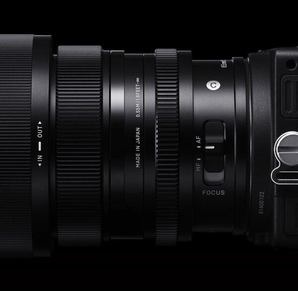 Obiektywy Sigma 24 mm f/3,5, 35 mm F/2 i65 mm F/2 wmocowaniach Sony E orazL