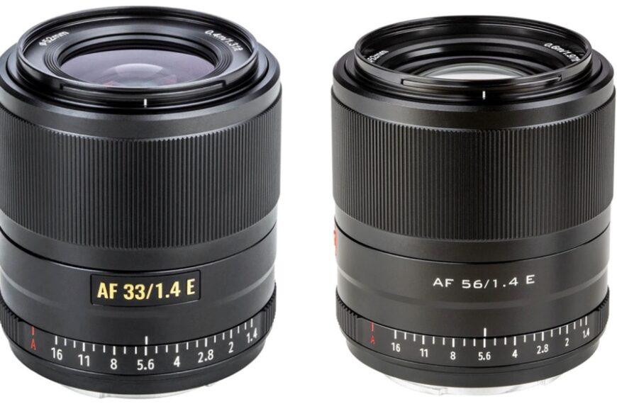 Obiektywy z autofokusem Viltrox 33 mm F/1,4 i 56 mm F/1,4 dla bezlusterkowców Sony z matrycami formatu APS-C