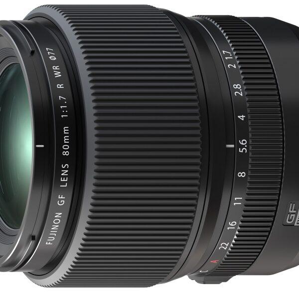 Średnioformatowy obiektyw Fujifilm GF 80 mm F/1,7 R WR
