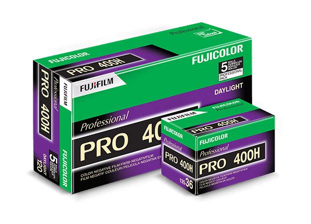 Fujifilm kończy produkcję kolorowego negatywu Pro 400H wformatach 135 i120