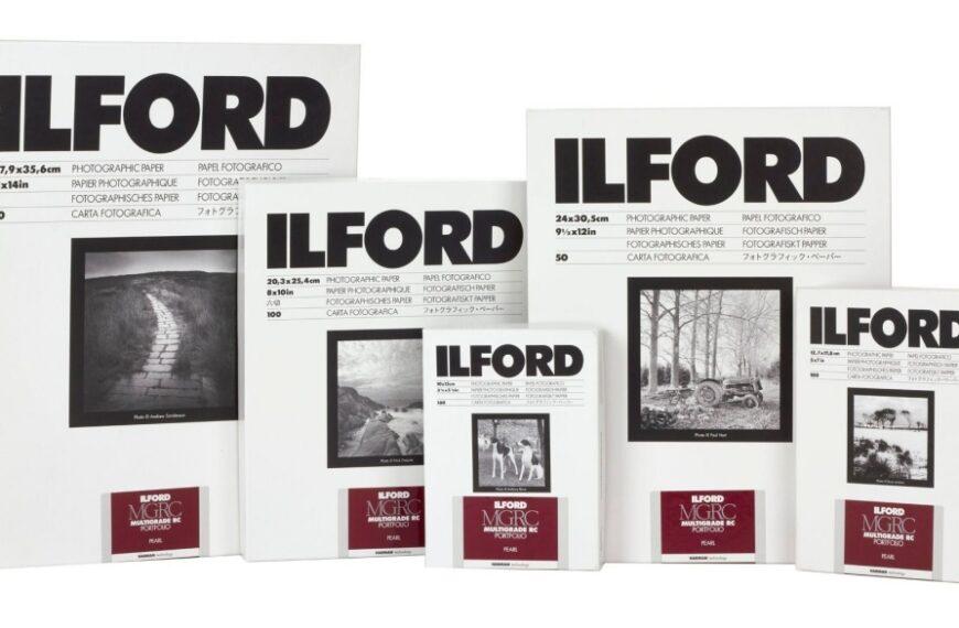 Papier wielogradacyjny Ilford MULTIGRADE RC PORTFOLIO