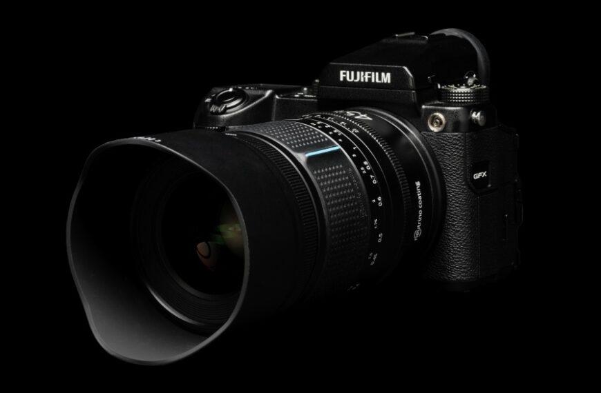 Obiektyw Irix 45 mm F/1,4 Dragonfly dośrednioformatowych aparatów Fujifilm GFX