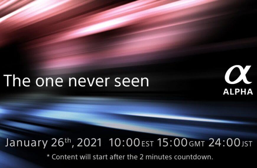Sony kusi premierą wdniu 26 stycznia