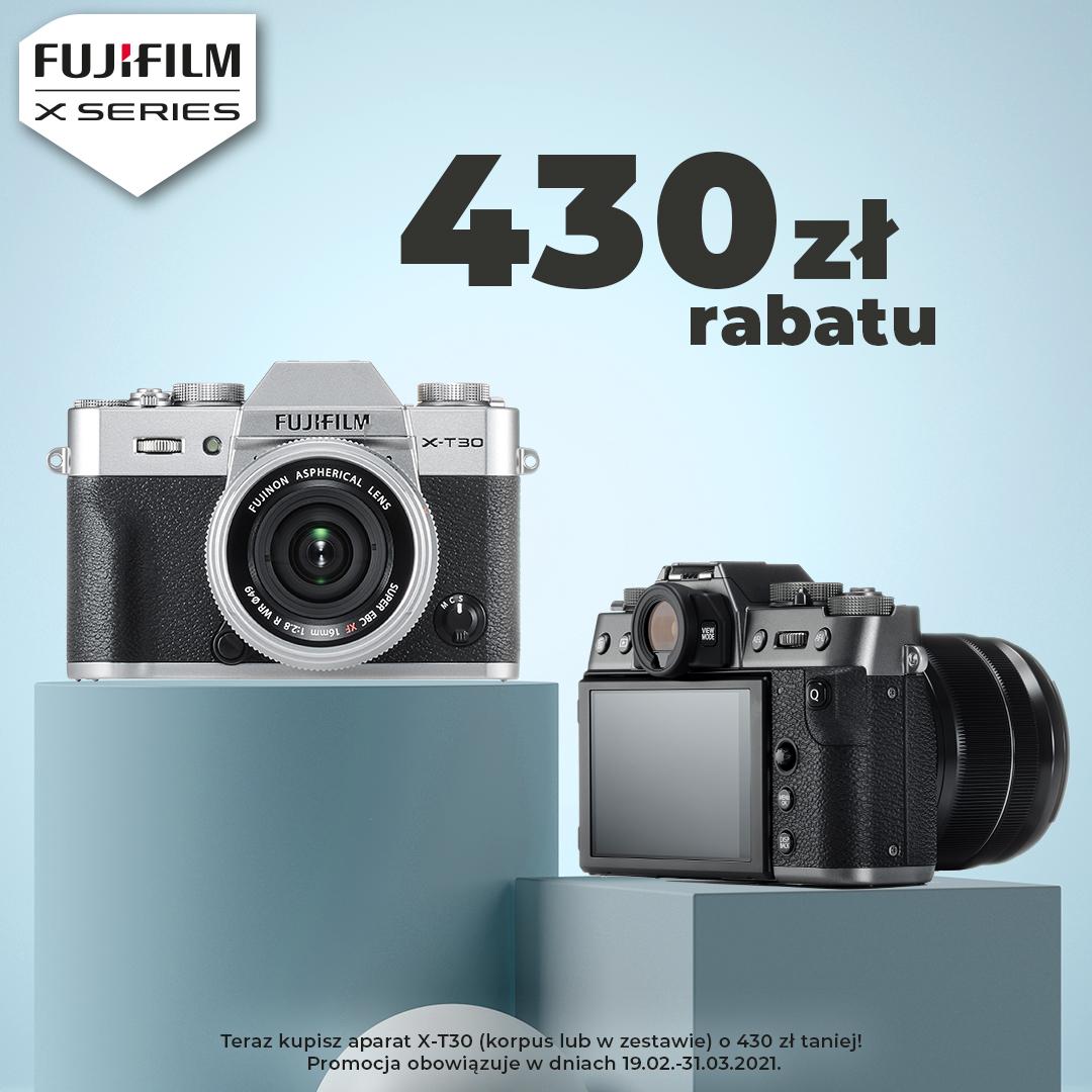fujifilm x-t30, interfoto.eu, promocja, rabat