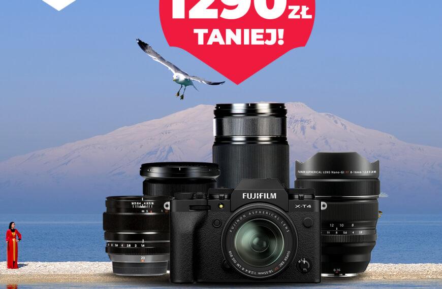 Najnowsze promocje Fujifilm – X-T4 + obiektywy