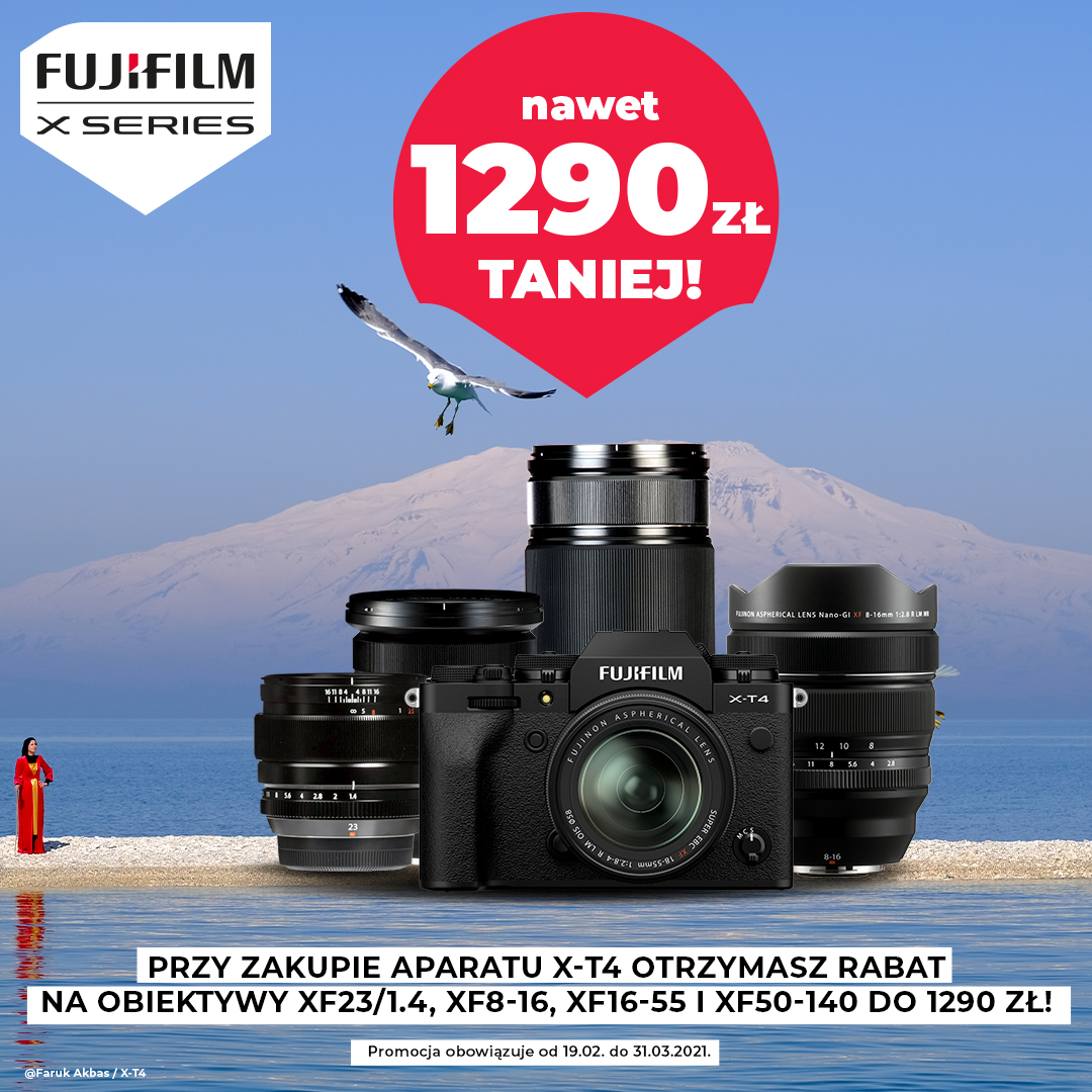 fujifilm x-t4, promocja, interfoto.eu
