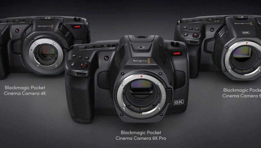 Pocket Cinema Camera 6K Pro: nowa kamera Super 35 firmy BlackMagic