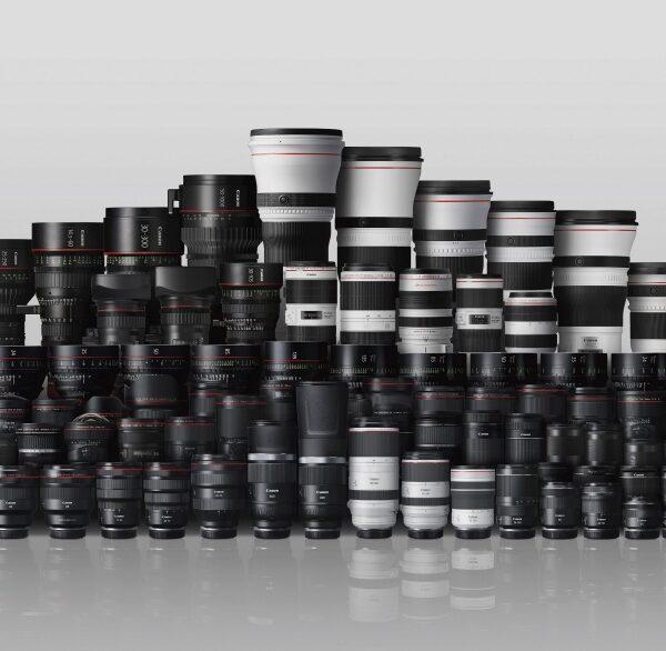 Canon wyprodukował 150 milionów obiektywów przez34 lata