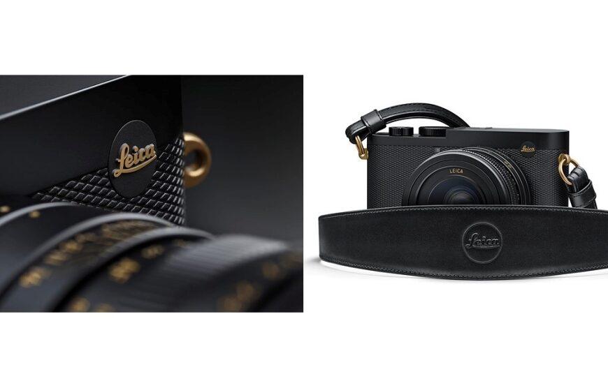 Czarno-złota limitowana edycja aparatu Leica Q2 Daniel Craig x Greg Williams