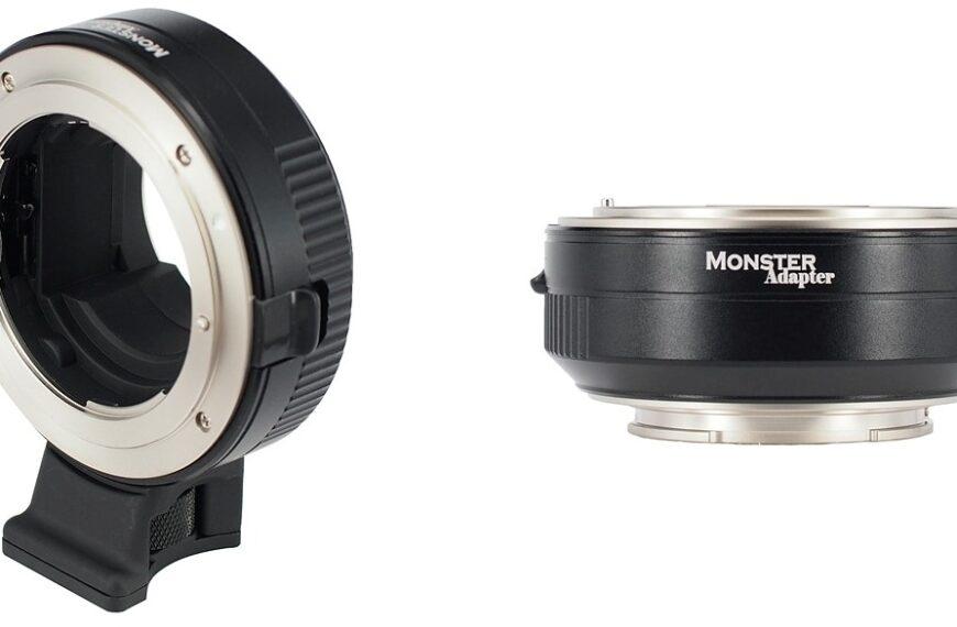 MonsterAdapter LA-FE1 daje wsparcie autotokusa dla obiektywów Nikkor AF-I, AF-P iAF-S nawybranych bezlusterkowcach Sony