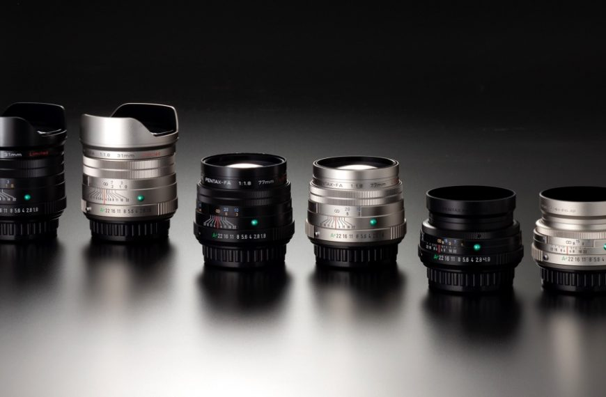 Ricoh wprowadza ulepszone wersje obiektywów Pentax 31 mm F/1,8, 43 mm F/1,9 i77 mm F/1,8 Limited