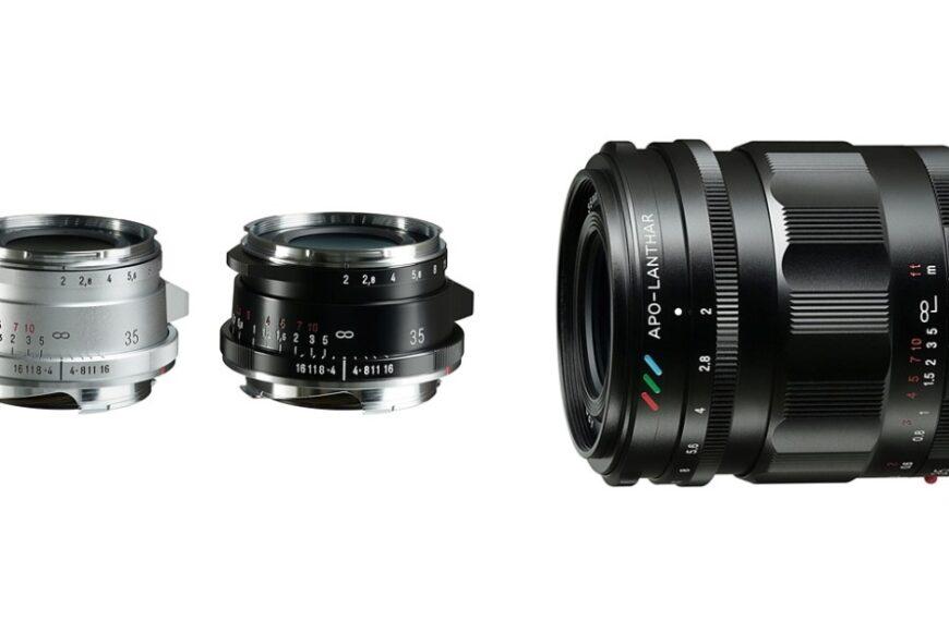 Cosina wypuszcza trzy nowe obiektywy Voigtlander 35 mm F/2 wmocowaniach Leica M orazSony E