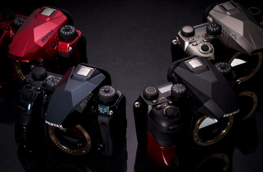 Pentax wprowadza narynek japoński lustrzankę cyfrową K-1 II J Limited 01 wczterech kolorach