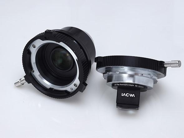 Adaptery filmowe firmy Venus Optics wmocowaniu PL: 1.33x Rear Anamorphic Adapter oraz1.4x Full Frame Expander