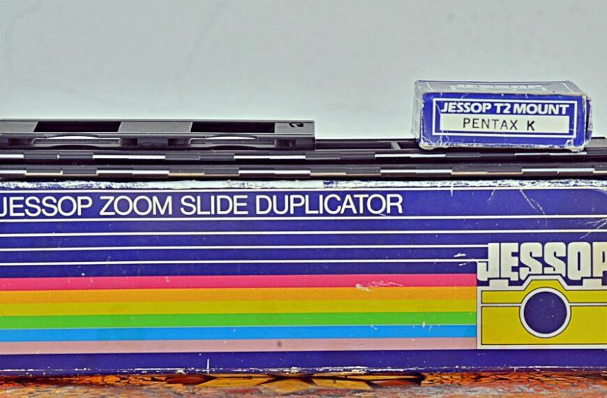 Jessop Zoom Slide Duplicator + Pentax K-1: szybka digitalizacja materiałów srebrowych