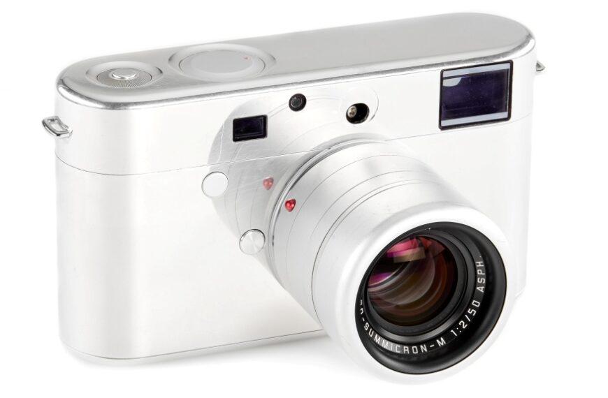 Prototyp aparatu Leica naaukcji