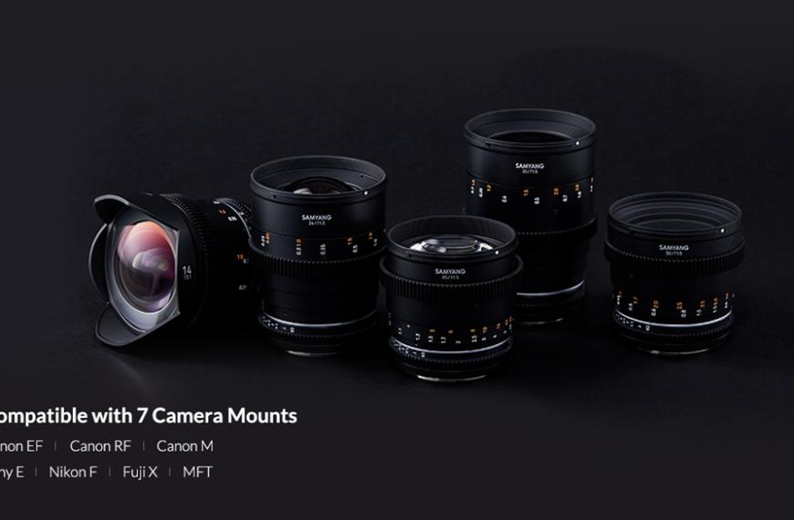 Samyang wypuszcza swoją serię obiektywów filmowych VDSLR MK II wmocowaniach Canon RF