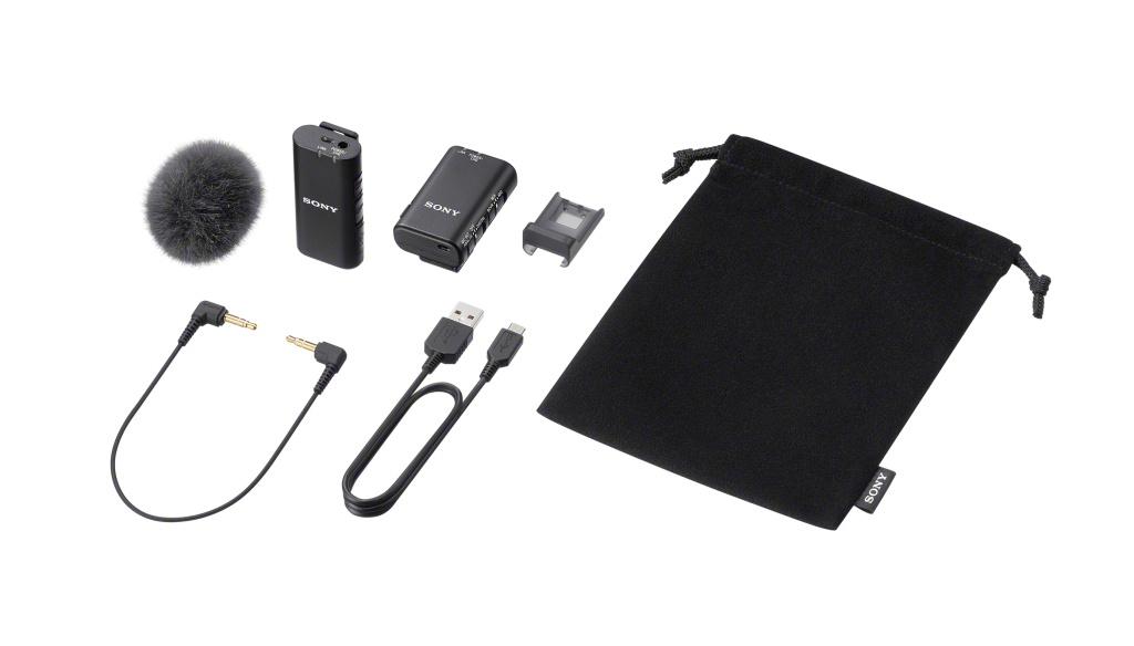 Nowy bezprzewodowy mikrofon Sony ECM-W2BT wykorzystuje stopkę Digital Multi Interface