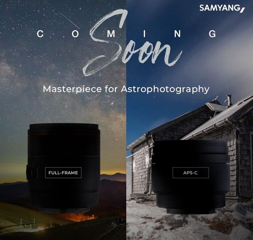 Samyang pokaże w kwietniu dwie nowe stałki do astrofotografii