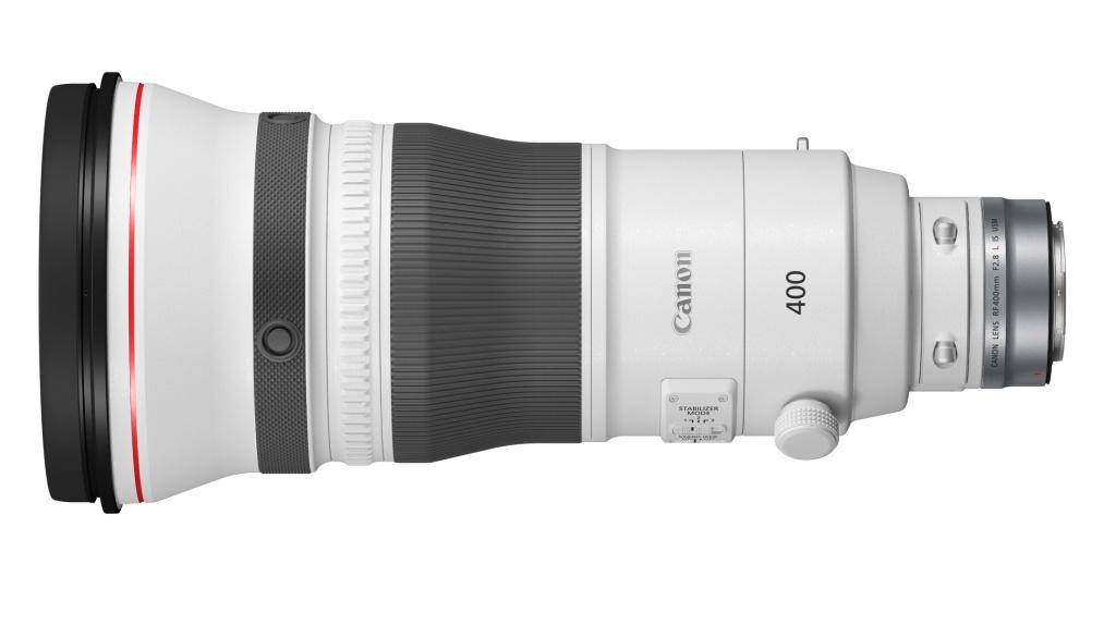 Teleobiektywy Canon 400 mm F/2,8L oraz600 mm F/4L wmocowaniu RF