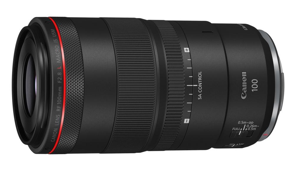 Obiektyw Canon RF 100mm F/2,8L Macro IS USM zregulacją boke
