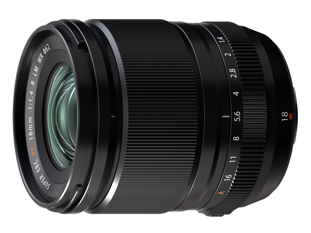 Obiektyw Fujifilm XF 18 mm F/1,4 R LM WR