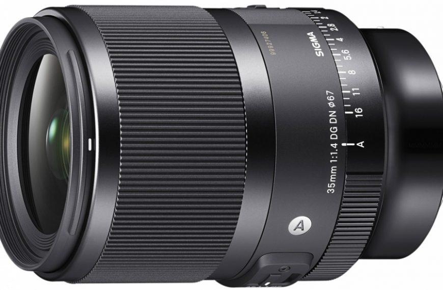 Obiektyw Sigma 35 mm F/1,4 DG DN Art wmocowaniach E iL