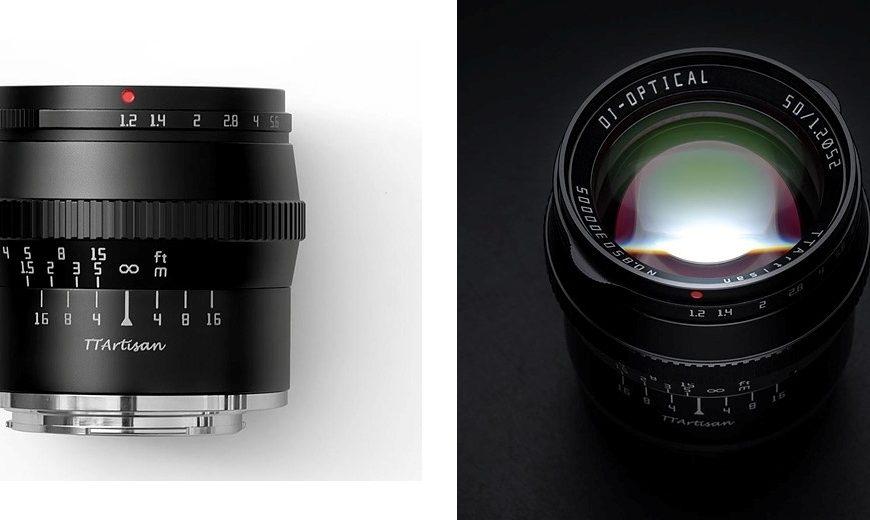 Obiektyw TTartisan 50 mm F/1,2 dla matryc formatu APS-C wmocowaniach Leica L iNikon Z