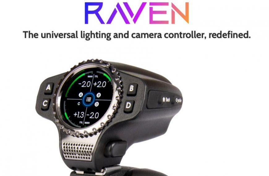 Sterownik lamp błyskowych iwyzwalacz aparatów firmy Raven obsługuje wiele marek fleszy