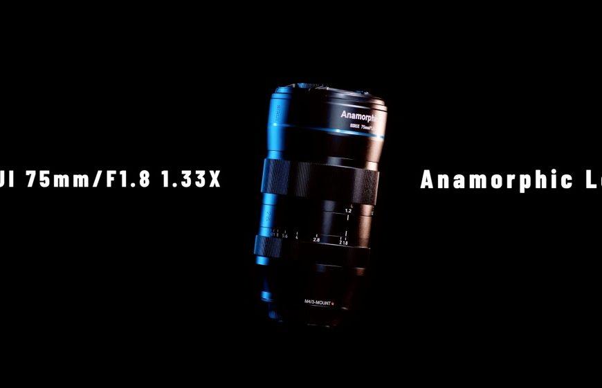Obiektyw anamorficzny Sirui 75mm F/1.8 1.33x