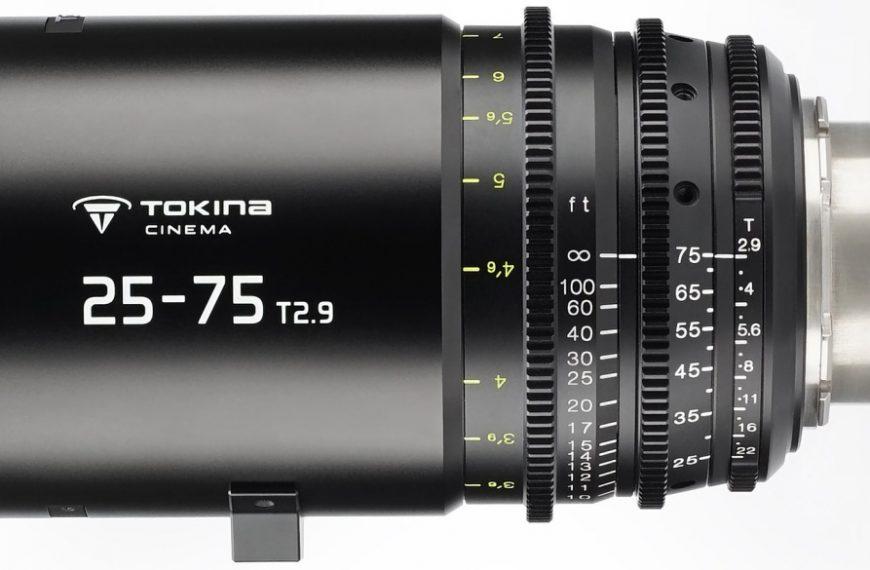 Obiektyw filmowy Tokina 25-75mm T2.9