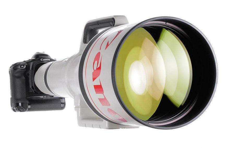 Najdłuższy obiektyw świata zautofokusem, czyli Canon EF 1200mm F/5.6 naaukcji wNiemczech