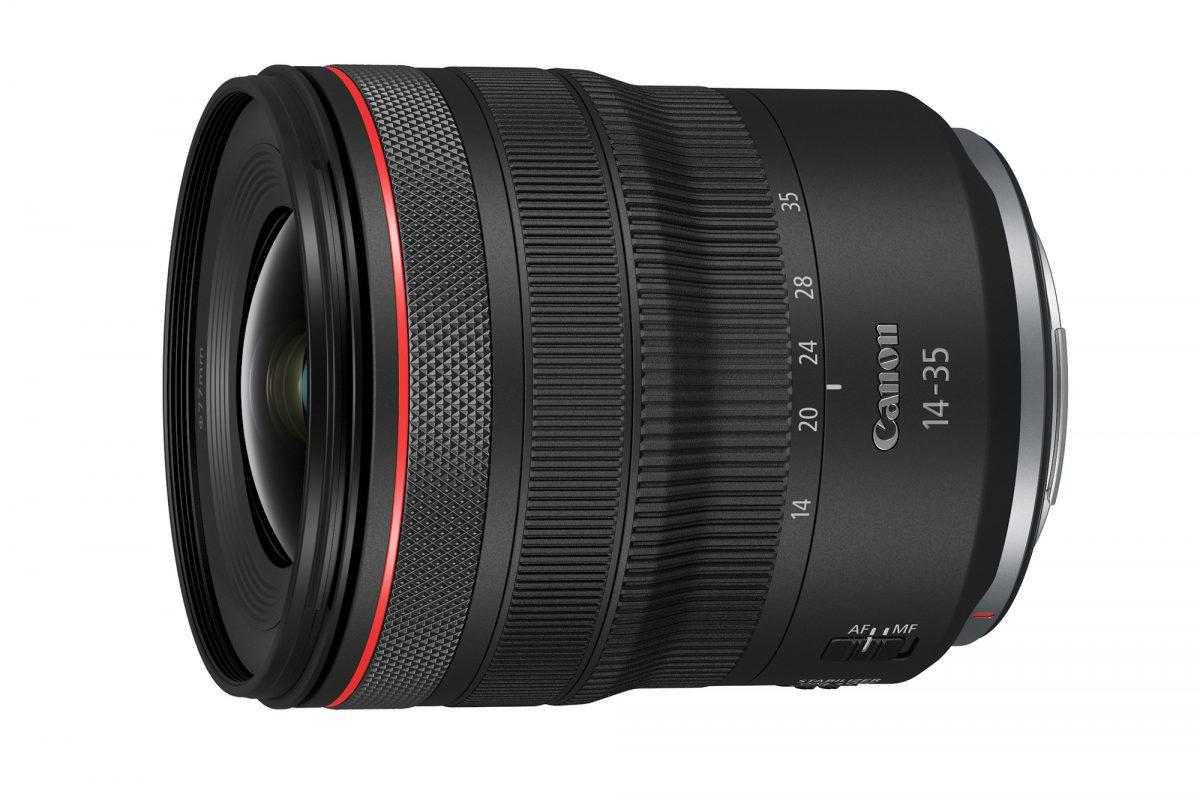 Obiektyw Canon RF 14-35mm F4 L IS USM