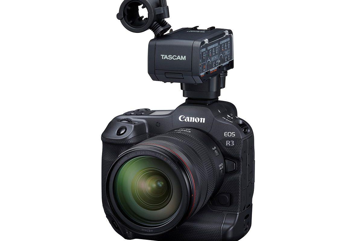 Canon EOS R3: nowa stopka