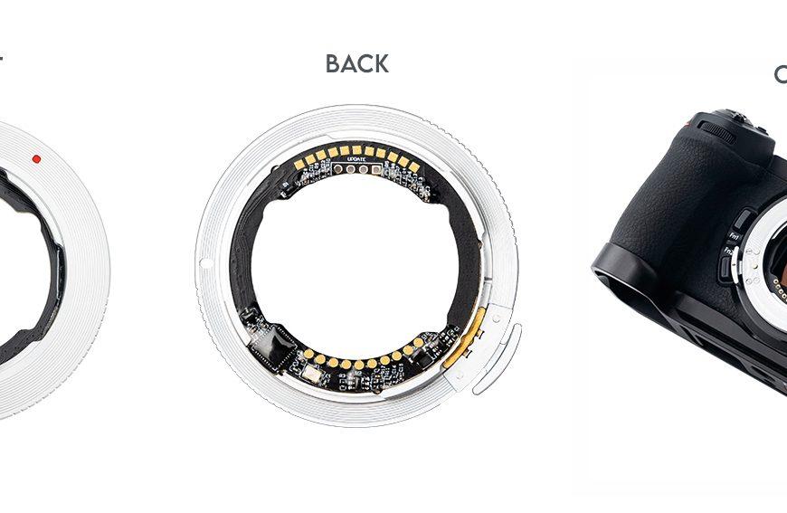 Adapter Megadap ETZ11: autofokus, sterowanie przysłoną orazstabilizacja obrazu zobiektywami Sony E nakorpusach Nikon Z