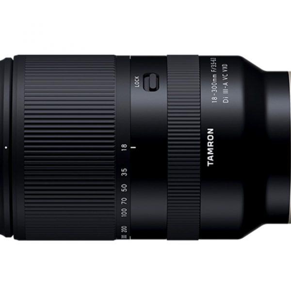 Tamron ogłasza obiektyw 18-300mm F3.5-6.3 dla matryc formatu APS-C wmocowaniu Sony E