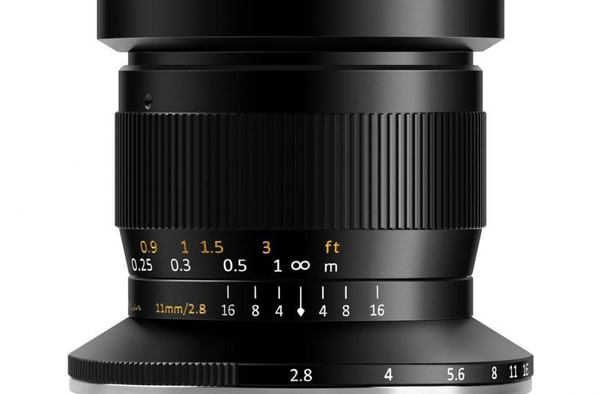Obiektyw TTArtisan 11mm F2.8 wmocowaniu Fujifilm GFX