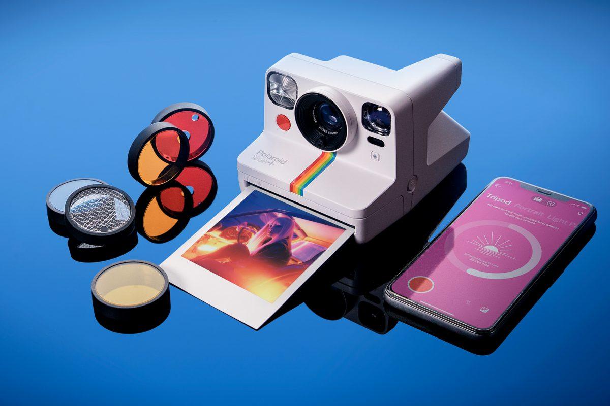 Nowy aparat dofotografii natychmiastowej Polaroid Now+: dodatkowe tryby uruchamiane smartfonem