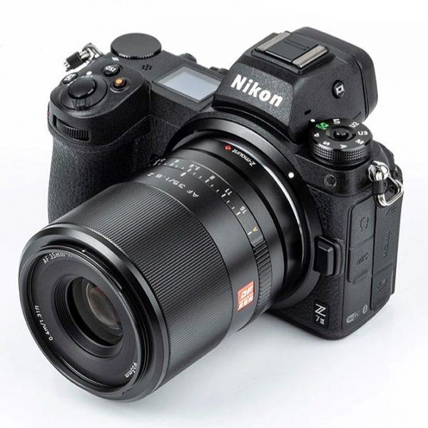 Obiektyw Viltrox 35mm F1.8 zautofokusem wmocowaniu Nikon Z